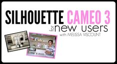 I'm so thrilled to be able to share with you some big news....the introduction of my new video course on Silhouette CAMEO 3! I've created the 45 minute course to help Silhouette CAMEO 3 beginners get