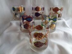 MID-CENTURY-FRED-PRESS-6-COCKTAIL-GLASSES-COLORFUL-TROPICAL-FISH-2