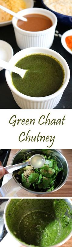 A fresh tasting herby chutney made primarily from coriander and mint leaves. It is the perfect ingredient to add a bit of spiciness to any Indian chaat or to be used as a spread of sandwiches or to be used just as a side for hot samosa or pakoda.