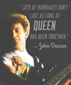 How I long to see John Deacon back with Queen. His talent is missed. Please come back John Deacon.