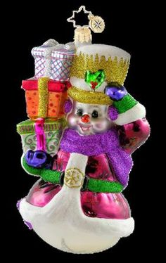 Colorful Greetings-1015897 Celebrate the Season Snowman 2011 Collection