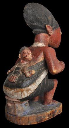Yoruba Maternity Figure, Nigeria