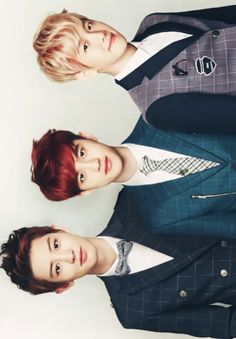 Chanyeol, D.O & Baekhyun for Ivy Club