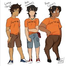 Honestly.. Not judging the person who created it, but Pidge would be Annabeth and Keith would be Nico. Shiro is... Jason. Allura is.. Piper. Matt is a Stoll Brother. And Zarkon is Mr. D.