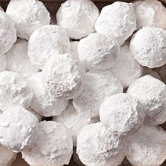 Yum! And super festive! Amazing Snow Ball Cookie Recipe