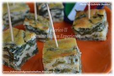 Federico II Genuine Italian Experience: Frittata di bietoline e pecorino romano al forno