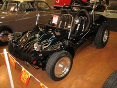 Flamed Manx Buggy by pauls, via Flickr