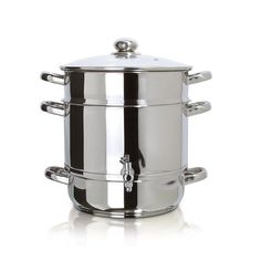 Euro Cuisine Stainless Steel Steam Juicer - EC9500