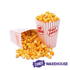 Popcorn is already a great snack, but candy popcorn is even better! Wholesale Candy, Types Of Candy, Fall Candy, Orange Candy, Candy Popcorn, Gourmet Popcorn, New Inventions, Candy Store, Dog Food Recipes