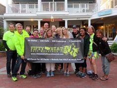 50 States Half Marathon Club Members Kick Off the Inaugural Martha's Vineyard Half Marathon