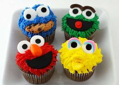 From The Minions to Sesame Street, let these cartoon cupcakes be your bakespiration for National Cupcake Week on 14-20 September