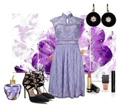 """""""Untitled #2946"""" by empathetic ❤ liked on Polyvore featuring Sue Wong, Gucci and Lolita Lempicka"""