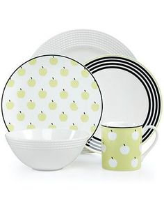 Kate Spade's adorable dinnerware will be the apple of your eyes