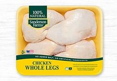 Find Chicken recipes, cooking tips, and learn why Sanderson Farms natural chicken is the best chicken for feeding your family. Grilled Whole Chicken, Herb Roasted Chicken, Glazed Chicken, Fresh Chicken, Chicken Skin, Garlic Chicken, Drumstick Recipes, Chicken Thighs, Chicken Tenders