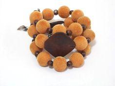 Boho Bracelet Bohemian Jewelry Stacked Bracelets by CatsAndSheeps, $34.00