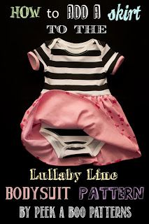 TUTORIAL: Add a skirt to your Lullaby Lap Tee