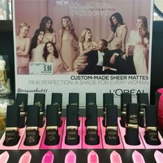 L'Oreal Collection Exclusive La Vie en Rose Sheer Mattes, new for spring 2016
