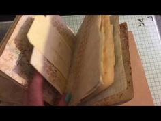Part 2 let's make a journal sewing in the signature #junkjournaljunkies - YouTube