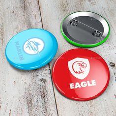 Button Badge Mock-up #design Download: http://graphicriver.net/item/button-badge-mockup/12071329?ref=ksioks