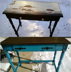 Redo It Yourself Inspirations : Road Rescue Side Table