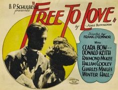Free to Love (1925)