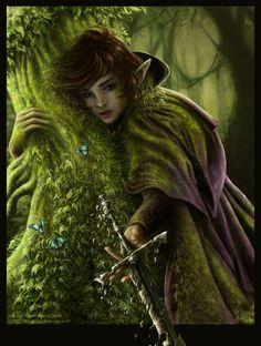 Ich war oft gestürzt, beim sechsten Mal hatte ich aufgehört zu zählen, war aber immer weiter gerannt, so schnell ich konnte, so schnell eine Elfe konnte. Nach Stunden war ich wieder alleine, konnte wieder atmen. Mein Mantel war grün vom Wald und Grasflecken, ich konnte kaum stehen, hielt mich mit einer Hand am Baum fest und ließ das Schwert langsam aus meiner Hand gleiten und sah, wie es sich auflöste. Jetzt sind wir endlich wieder frei. Das war mein letzter Gedanke, bevor ich starb.