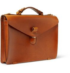 MR PORTER offers Designer Bags, Ties & Watches from over 350 designers. Shop online for bags from the best luxury brands on MR PORTER. Briefcase For Men, Leather Briefcase, Leather Wallet, Men Wallet, Leather Bags Handmade, Leather Projects, Leather Accessories, Leather Men, Leather Jackets