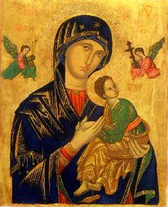 Nostra Madre del Perpetuo Soccorso è una icona di scuola cretese oggi presente nella chiesa di Sant'Alfonso all'Esquilino a Roma