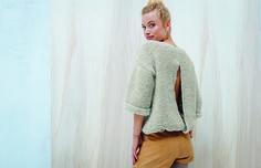 Envie de tricoter un pull facilement? On vous propose un patron gratuit pour vous aider dans sa réalisation!