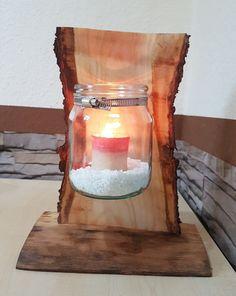 Windlicht Kerzenhalter Holz Deko f. Terrasse Garten Balkon Handarbeit Unikat in Möbel & Wohnen, Dekoration, Kerzenständer & Teelichthalter | eBay!