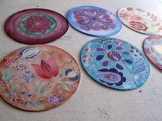 Silk Painting, Decorative Plates, Folk, Tableware, Google, Home Decor, Homemade Home Decor, Dinnerware, Popular