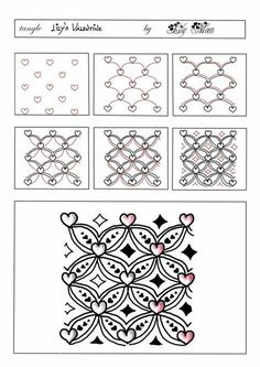 Lily's Valentine by Lily Moon - zentangle, tangle // Inbox – dbdove51@gmail.com