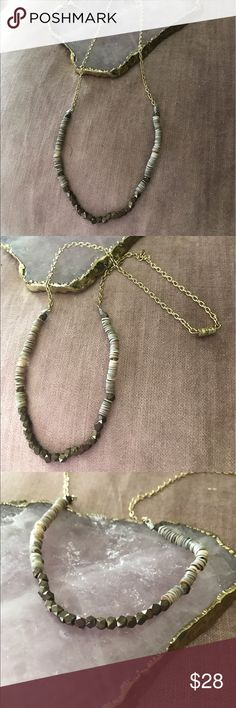 ⚡️flash just In beautiful Boho necklace Beautiful Boho necklace in earth tones with safety clasp this piece is a multi media mix metal & stones Jewelry Necklaces