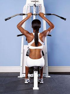 Make yourself a regular on this equipment and you'll speed up your metabolism while sculpting sexy muscles.