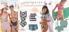 Esse Verão a regra é fugir da cortininha básica e apostar nos mais inesperados looks para a praia!