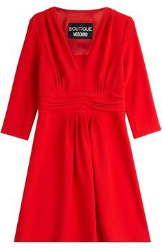 BOUTIQUE MOSCHINO Draped Dress. #boutiquemoschino #cloth #cocktail & party