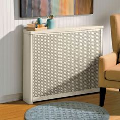 Update your radiators easily and affordably with decorative Radiator Covers. Protect your family and pets from exposed hot radiators while giving your home a quick, affordable update. Designed to conceal beautifully without interfering with heat output, these sturdy steel Radiator Covers have a tough, fade-resistant powder-coated finish. These Radiator Covers also help conserve energy by directing heating into the room and away from windows and walls. Available in a variety of sizes and…