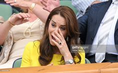 Catherine, Duchess of Cambridge attends day ten of the Wimbledon Tennis Championships at Wimbledon on July 07, 2016 in London, England.  (Photo by Karwai Tang/WireImage)