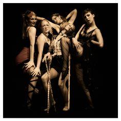 """Gruppen """"Sweet Burlesque"""" Ambassaden Aarhus IIHoudino-foto.dk"""