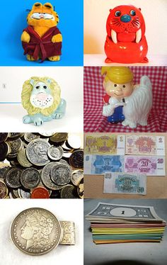 Money Money Money  by Carrie Donnelly on Etsy--Pinned with TreasuryPin.com