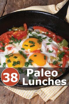 38 Scrumptious #Paleo Lunch Recipes you should try today.  Click the image to get your #recipes now!
