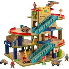 Wash N Go, Car Wash, Wood Garage Kits, Car Garage, Station Essence, Pick Up Sticks, Mechanic Shop, Loft Storage, Wooden Car