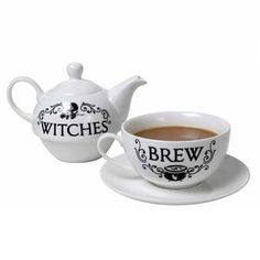 Witches Brew Teapot Set | HowCurious? – HowCurious? Ltd Perfect Cup Of Tea, Tea For One, Tea Pot Set, Brewing Tea, Witches Brew, Beautiful Gift Boxes, Bone China, Herbalism, Tea Cups
