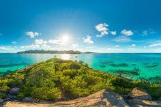 La Isla Providencia la consideran la joya del caribe colombiano.