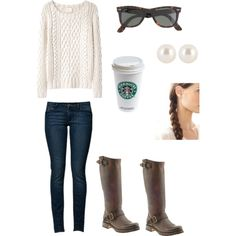 """cozy outfit"" by alexxtruelovee on Polyvore"