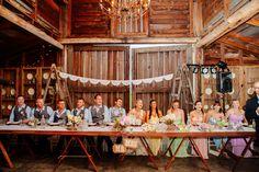 head table actually at the SPC barn