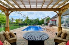 Hilliard Elegance Pool with Auto Cover | Luxury Pools and Living