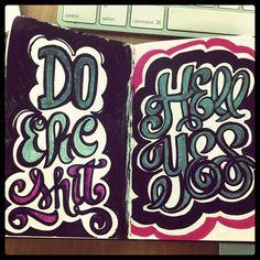 Epic! #lettering #letteringdaily #doodle #sketchbook #moleskine #sharpie - @magicmaia- #webstagram