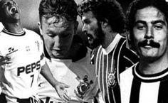 Sport Club Corinthians Paulista - 104 anos/ 104th Anniversary - Marcelinho, Neto, Sócrates e Rivellino