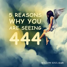 Do you repetitively see 444? You were guided here to find out about the444 meaning. Repetitively seeing 444is a blessing.Seeing 3-digit number patterns like 444 is a sign that you're receiving divine messages from higher realms. These angel messages are very important to you at this time of your life and they serve as clues or guideposts to help you along your journey. Here are 5 possible spiritual meanings and reasons of why you are seeing angel number 444 everywhere.